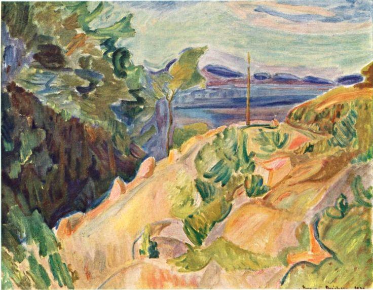 Thorvald Erichsen (1868-1939): Blåst, 1920