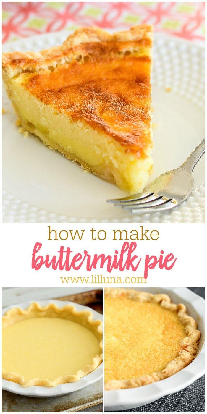 Old Fashioned Buttermilk Pie Recipe Lil Luna Recipe Buttermilk Pie Recipe Buttermilk Pie Chocolate Pie Recipes