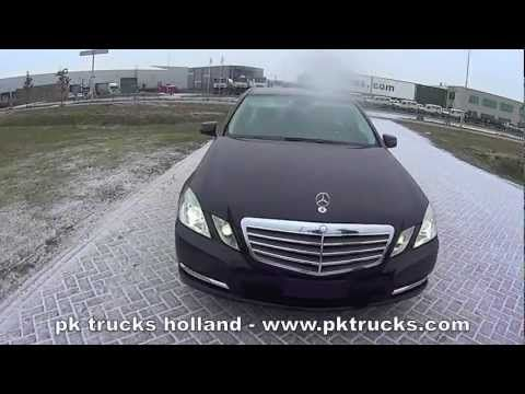 Mercedes E 200 CDI BlueEfficiency 4x2 sedan.m4v    More information: http://www.pktrucks.com/stock/view/me2826