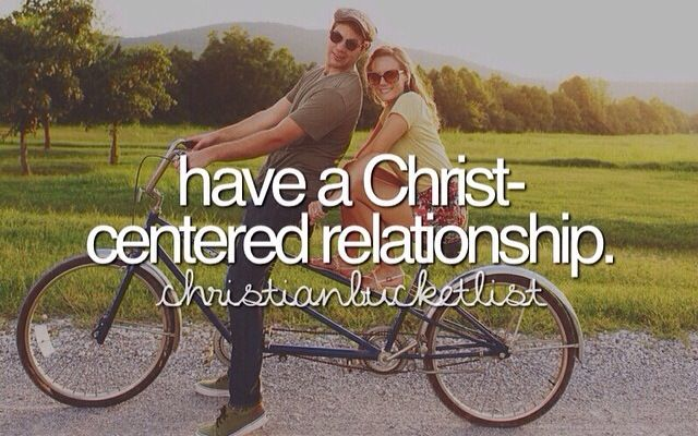 Christian Bucketlist - Relationship