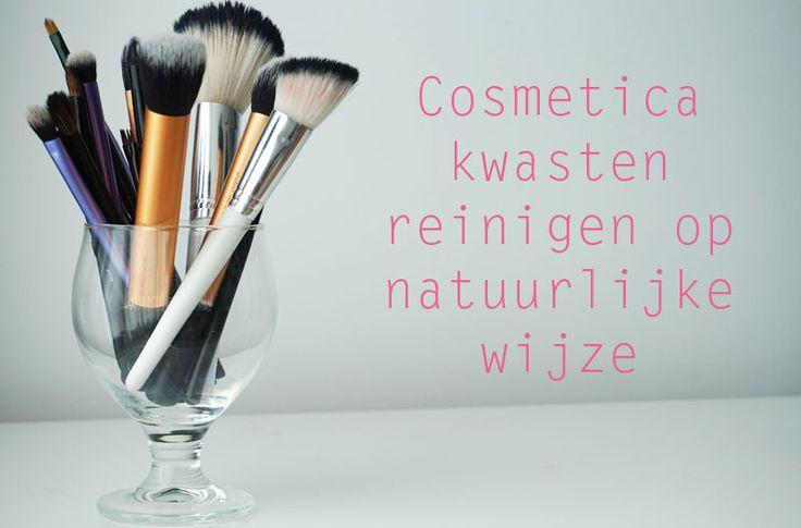 Make-up kwasten reinigen op een natuurlijke manier