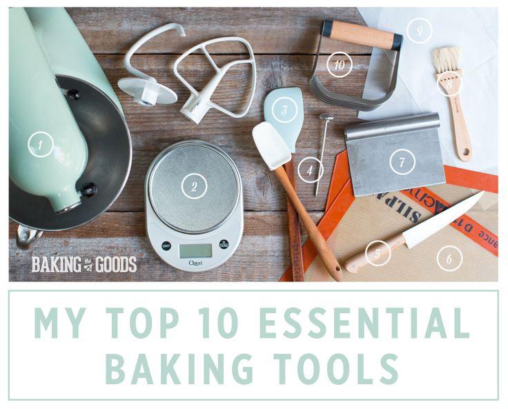 My Top 10 Essential Baking Tools by Baking The Goods  |  @beckysuebakes  |  bakingthegoods.com