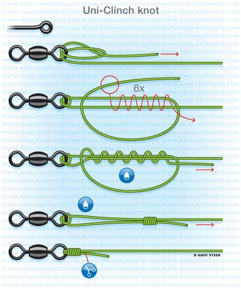 Knots from the pros john wilson mbe fishing box for Bass fishing knots