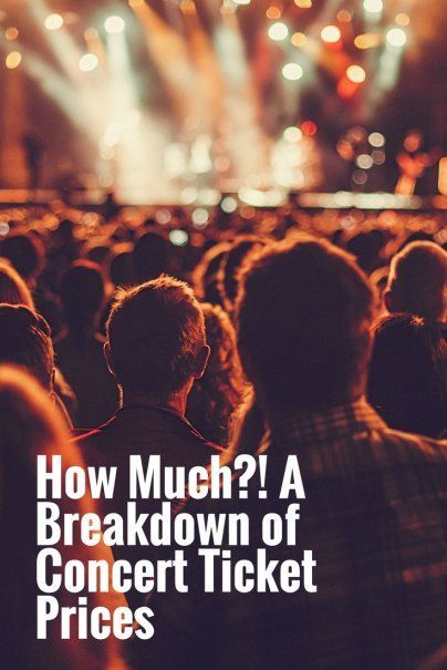 How Much?! A Breakdown of Concert Ticket Prices   Product Review   Ho To Save Money On Gig Tickets