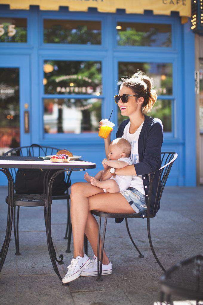 Mama and Baby #casual #converse