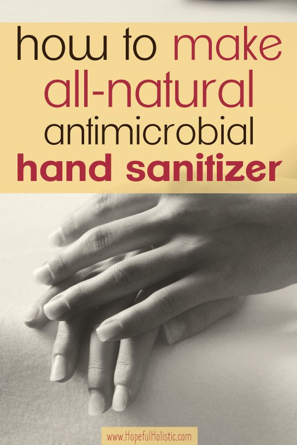 Make Your Own Natural Hand Sanitizer Out Of Just 3 Ingredients