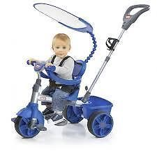 4 in 1 BASIC EDITION TRIKE - LITTLE TIKES - BLUE -A bike to grow with your child