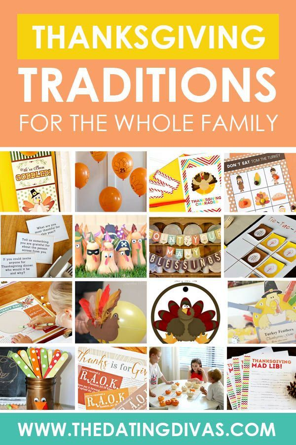 Thanksgiving Traditions And Ideas For Family From The Dating Divas In 2020 Thanksgiving Traditions Thanksgiving Countdown Thanksgiving Fun