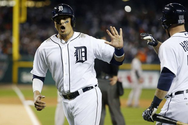 Victor Martinez named Tiger of the Year for 2014, becomes first designated hitter to win award | MLive.com