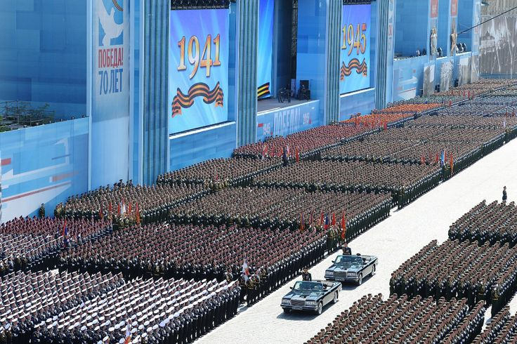 More than 16,000 troops from all arms are on the Red Square. Moscow, May 9, 2015. (Photo: Reuters)