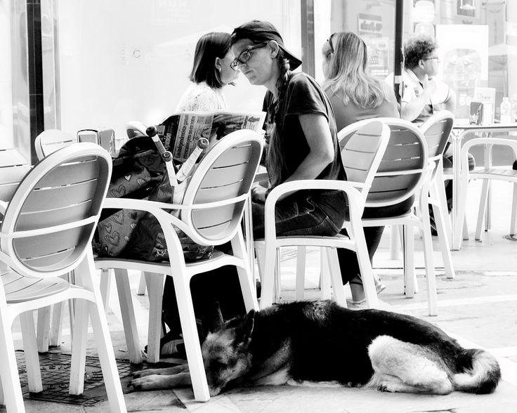 Resting after job