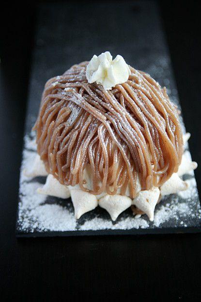 Le Mont-Blanc (aux marrons) | La cuisine de Josie