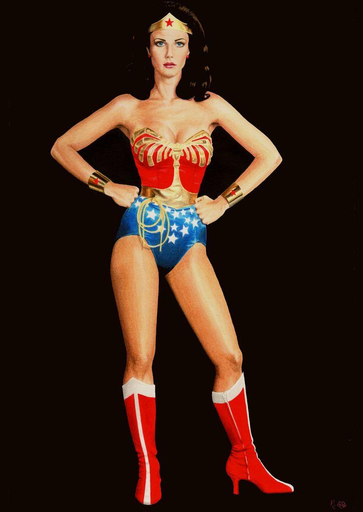 Wonder Woman (Lynda Carter) by ~Promethean-Arts