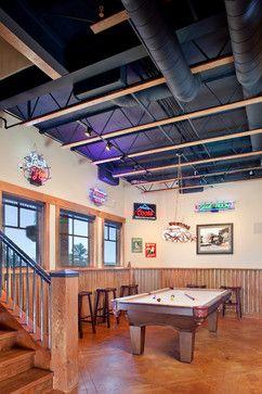 Inspirational Open Ceiling Basement