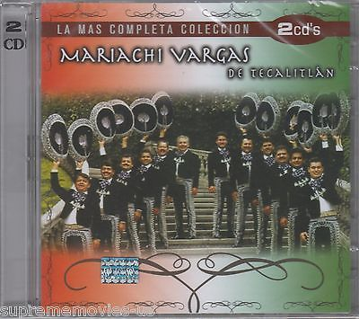 NEW - Mariachi Vargas De Tecalitlan CD NEW La Mas Completa Coleccion BRAND NEW