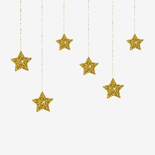 Estrelas Douradas Elegantes Penduradas Ilustracao Vetorial Estrela Clipart Resumo Suspensao Imagem Png E Vetor Para Download Gratuito Vector Illustration Golden Star Birthday Illustration