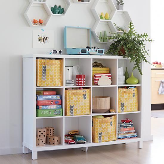 Cubic Bookcase (White, 12-Cube)