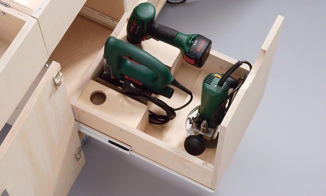 25 einzigartige werkstattwagen mit werkzeug ideen auf pinterest milwaukee werkzeugkasten. Black Bedroom Furniture Sets. Home Design Ideas