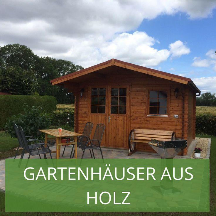 37 best Ganz natürlich Die schönsten Gartenhäuser aus Holz images - küche aus holz