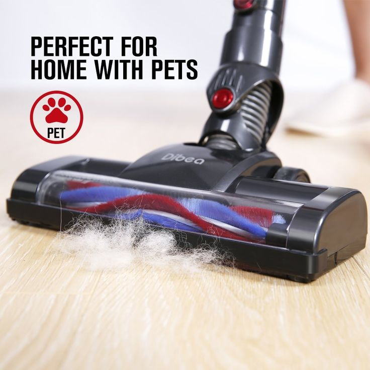 Dibea C17 Cordless Stick Vacuum Cleaner Handheld Dust Collector Household Aspirator with Docking Station Portable Sweeper