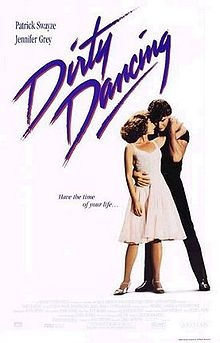 Dirty Dancing (1987) Jennifer Grey pre nose job & Patrick Swayze. I get reobsessed every single summer; it does not fail.