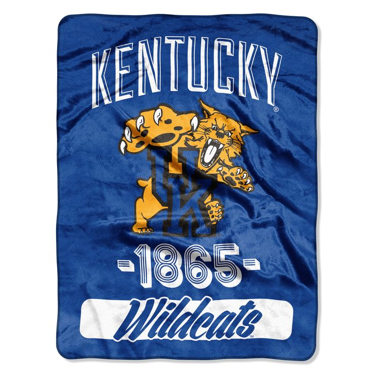 Northwest Company Ncaa Kentucky College Varsity Micro Throw Blanket