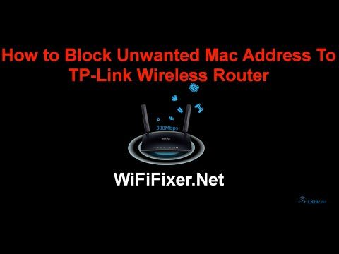 How to Block or Allow Wifi User to Access Internet on TP-link Wireless Router | WifiFixer- Fix Your Router Problem