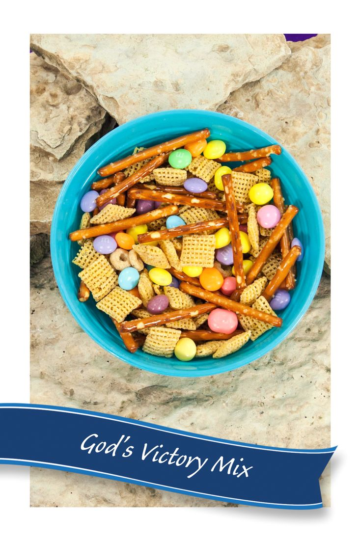 Snack time at Vacation Bible School is a great time to use tasty and nourishing food to help the kids remember the Bible stories and Take-Home Points and energize the kids for more VBS fun.