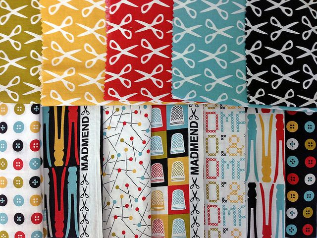 MadMend   Michelle Engel Bencsko for Cloud9 Fabrics. Coming Oct '13