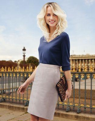 Интересно, как сделаны темные корни при таком ярком блонде на кончиках МИСТИКА ВОЛН - коллекция весна-лето 2014 - DESSANGE PARIS