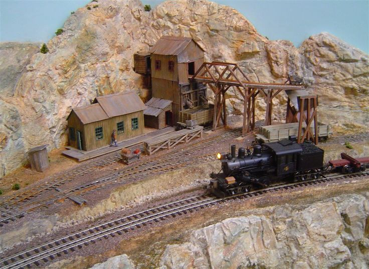Lucky Gold mine overview Model Railroader Magazine