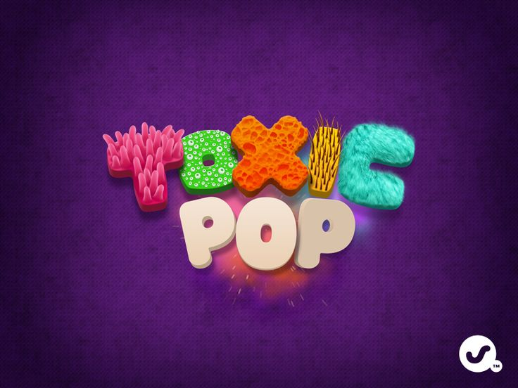 Toxic Pop type by ustwo™