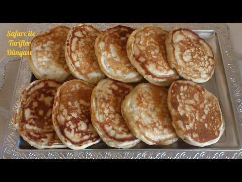 Muzlu Pankek Tarifi - Pankek (Pancake) Nasıl Yapılır - Kahvaltılık Tarifler - YouTube