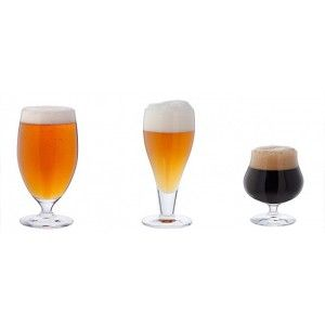 Dartington 3 Cheers For Beers Glass Gift Pack