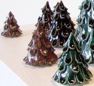 clay christmas trees   Christmas-Trees
