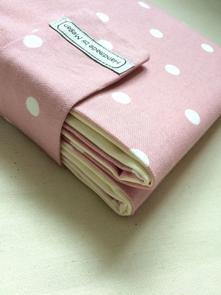 Pink Travel Baby Changing Mat by handmadebymeganuk on Etsy