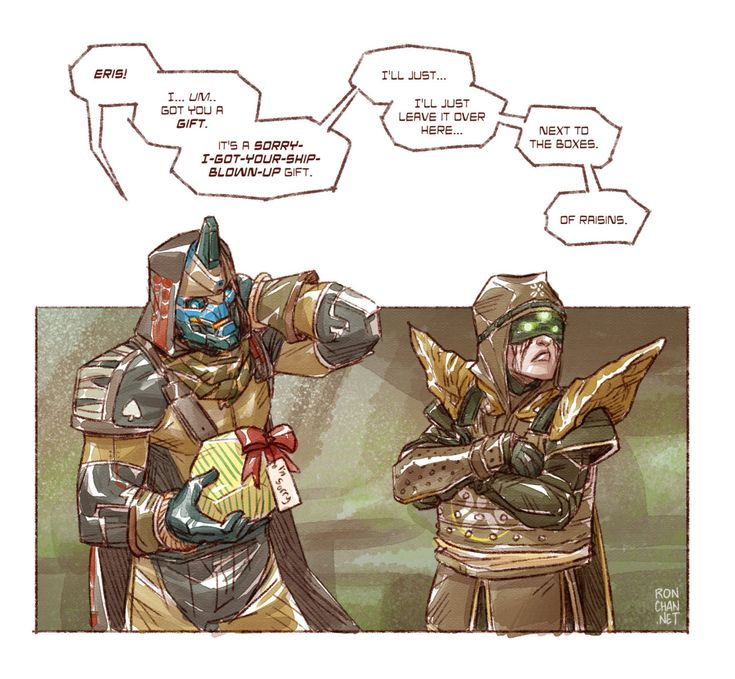 Destiny fan art!Maybe you should have sent a guardian for this one, Cayde.
