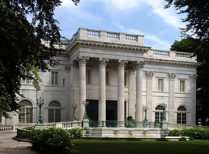 Marble House, Newport, Rhode IslandRhode Islands, Newport Mansions, Marbles House, American House, Wooden House, Newport Ri, Vanderbilt Marbles, Architecture, Gilded Age