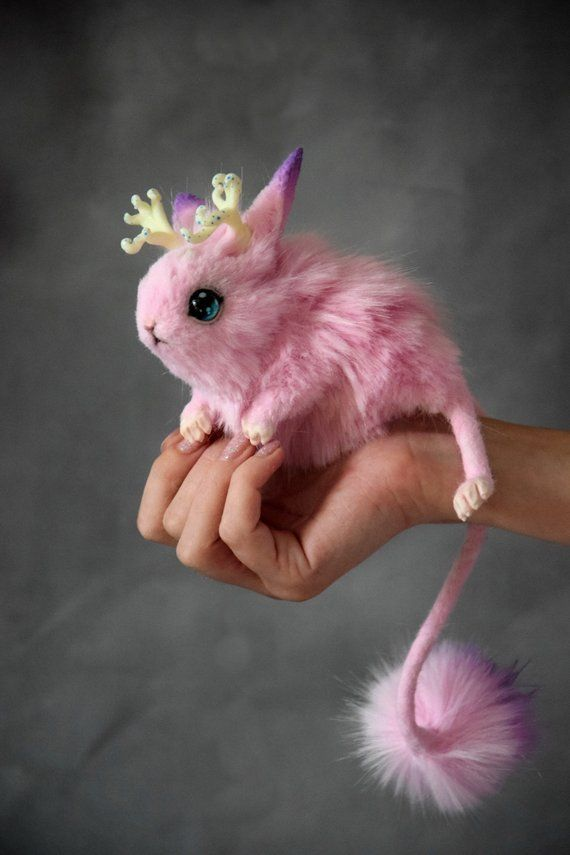 Magic Jerboa Etsy Cute Fantasy Creatures Fantasy Art Dolls Cute Baby Animals