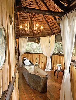 outdoor treehouse bathroom - Tree House Bathroom
