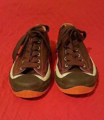 Rare, Vintage, Pro Keds Brown Leather Sneakers Tennis Shoes