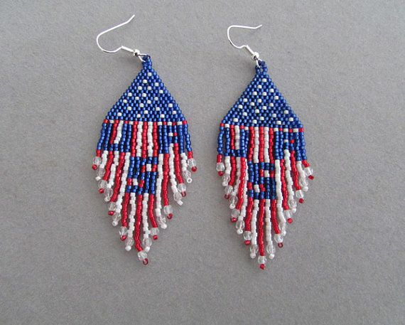 17 best images about 4th of july seed bead patterns on pinterest