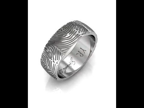 Wedding Band 03. Fingerprint