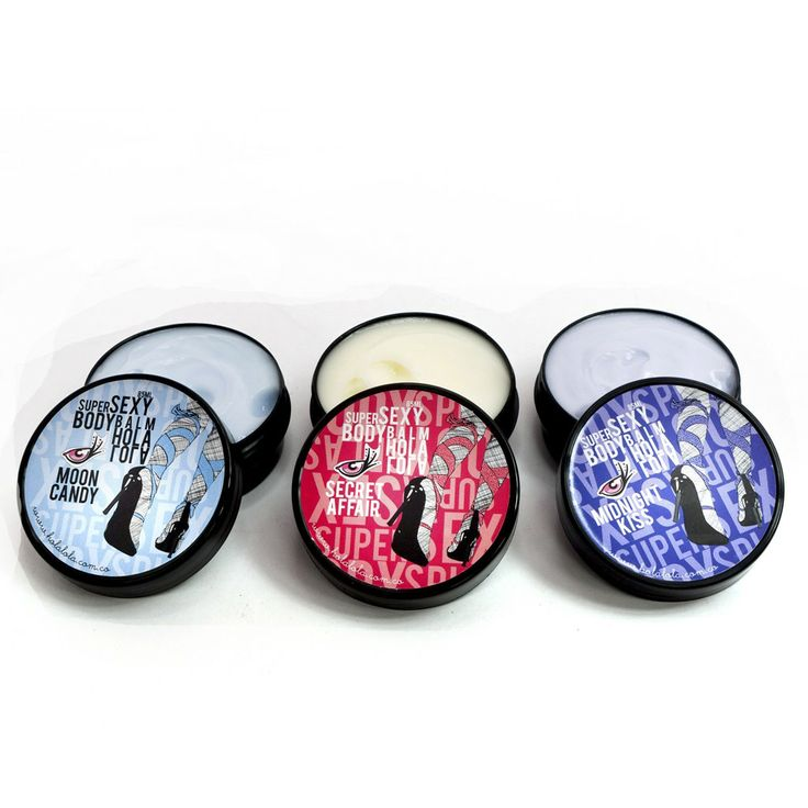 Estuche Mini Body Balm x 3 Unidades (Aromas surtidos) 1 Mini Body Balm Secret Affair + 1 Mini Body Balm Midnight Kiss + 1 Mini Body Balm Moon Candy hola lola http://spa-depot.co/hola-lola/regalos-holalola.html