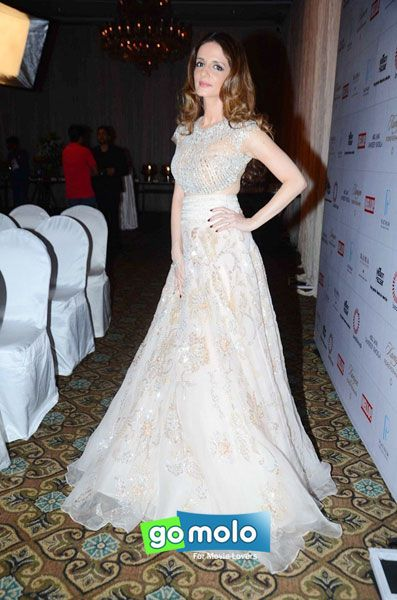 Sussanne Khan at Mission Hazaar charity show in Mumbai