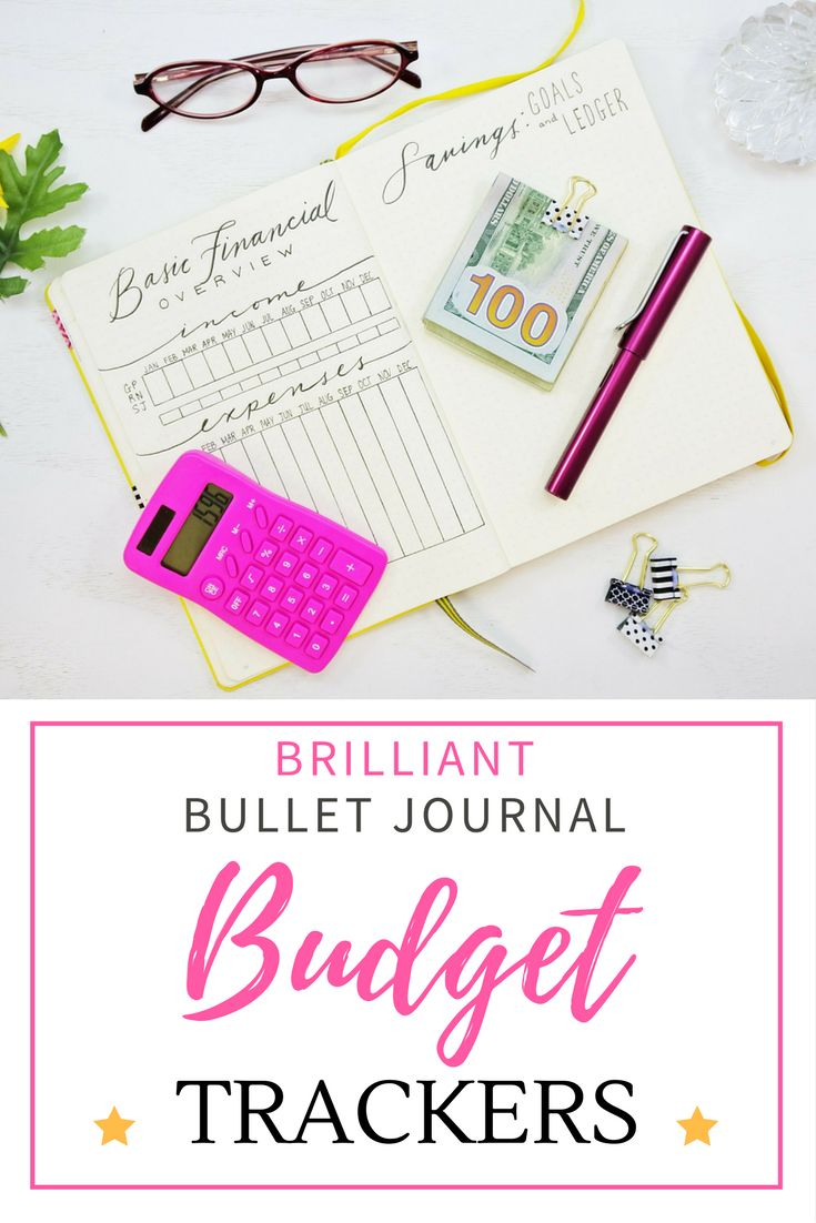 Get inspired by these brilliant budget trackers for your Bullet Journal!