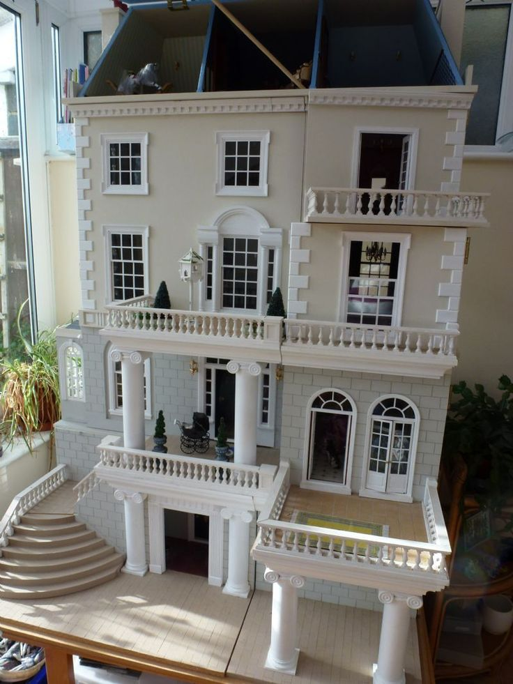 For Sale - Beautifully Extended dollhouse - The Dolls House Exchange