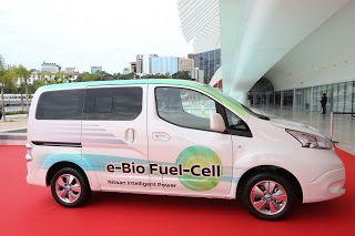 Quinta Marcha – Nissan revela veículo elétrico movido a célula de combustível de bioetanol, com autonomia superior…