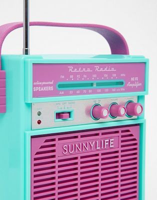 Retro Sounds Speakers by Sunnylife