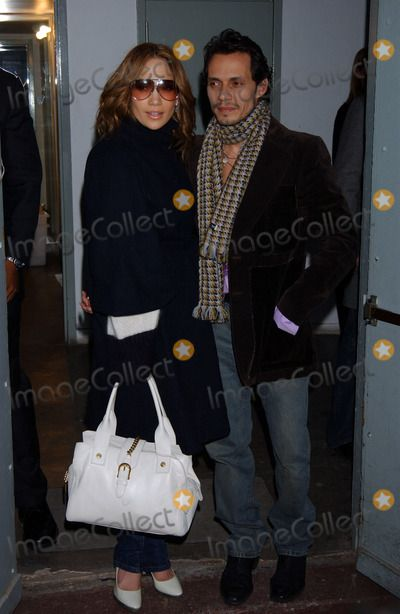 Photos and Pictures - JENNIFER LOPEZ AND MARC ANTHONY at the Fall 2006 Sweetface Presentation at Industria Studios in Manhattan.